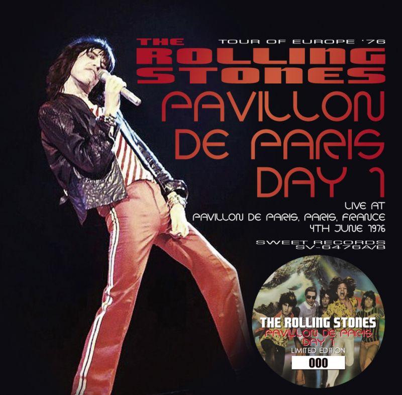 please release the dvd Stones aux abattoirs 1976 Paris