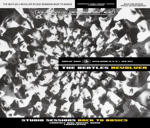 Beatles Revolver Back images