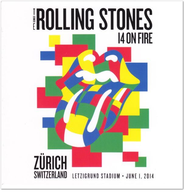 Rolling stones 14 on fire