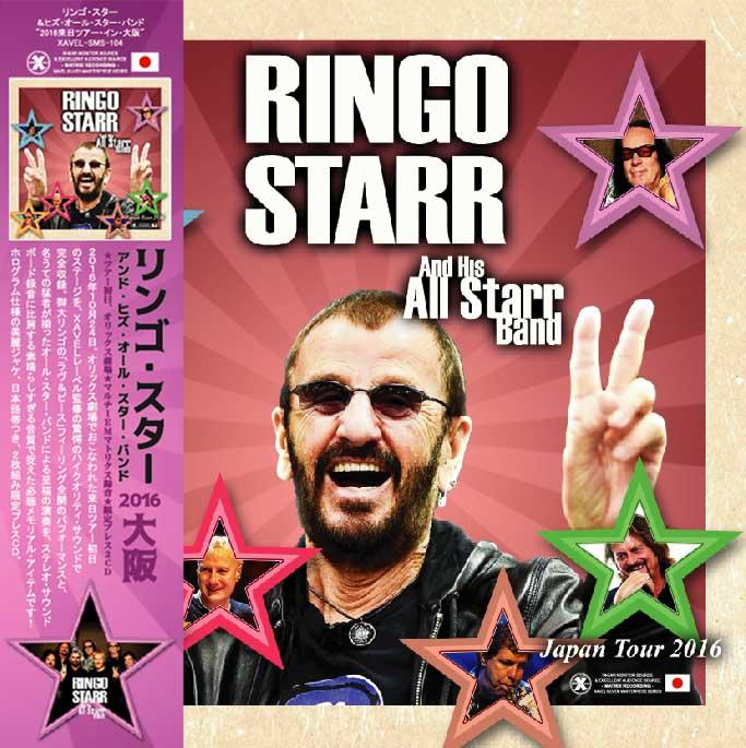 【6公演まとめ買いセット】Ringo Starr & His All Starr Band - 2016 Japan ...