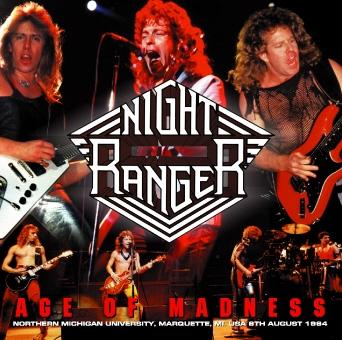 Night Ranger - Age Of Madness  :  1984 Live In America Marquette Michigan