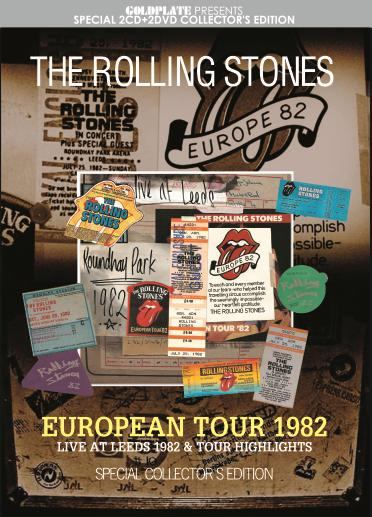 c98fdb47 THE ROLLING STONES - EUROPEAN TOUR 1982 (2CD+2DVD) - Next Time