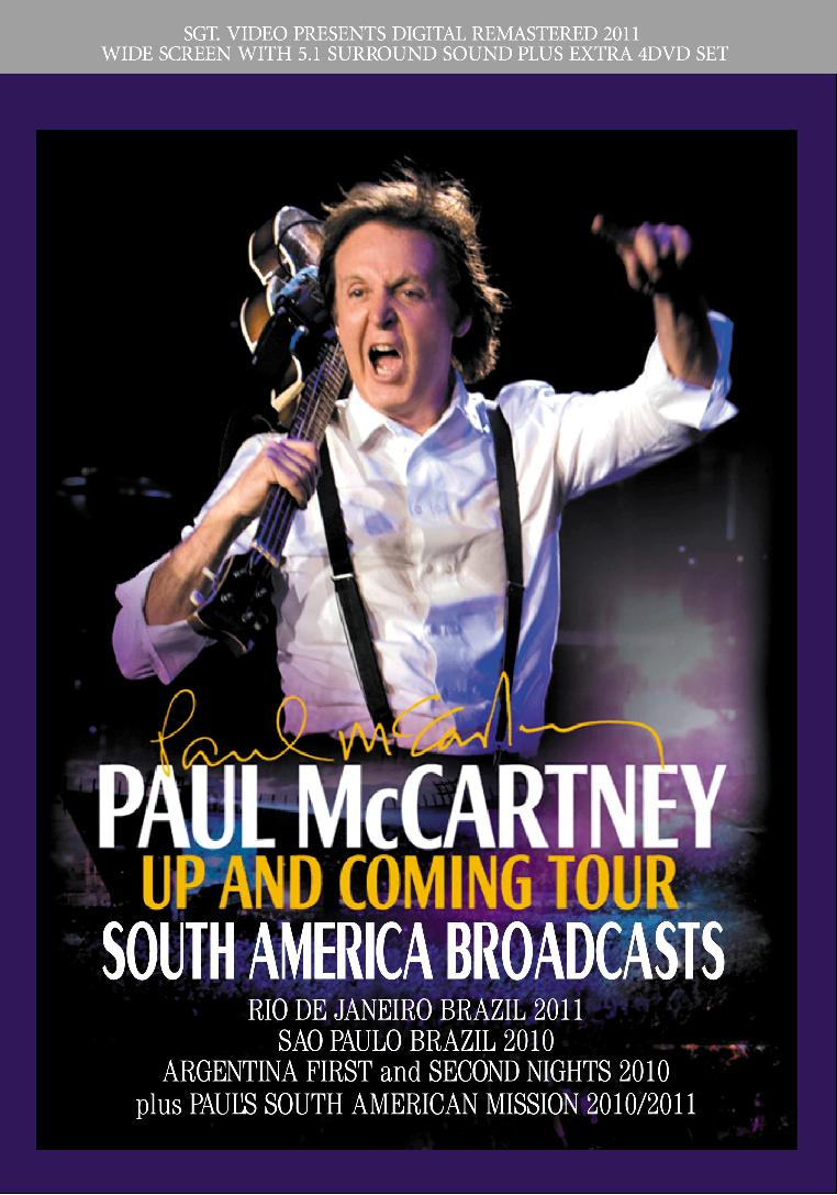 1 PAUL McCARTNEY South America Broadcasts